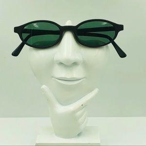 Vintage Elite Brown Oval Sunglasses Frames